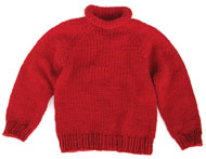 Children's Raglan Sweater KnitKit – Size 10 1