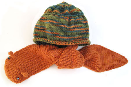 Snail Hat Scarf Combo Pdf Pattern Morehouse Farm