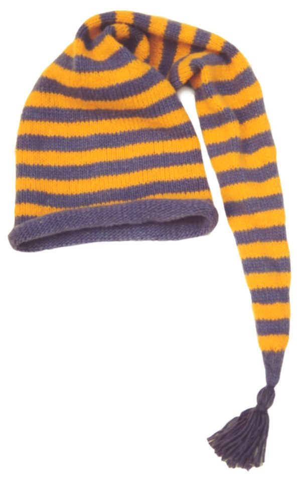 Striped Marvel Hat PDF Pattern