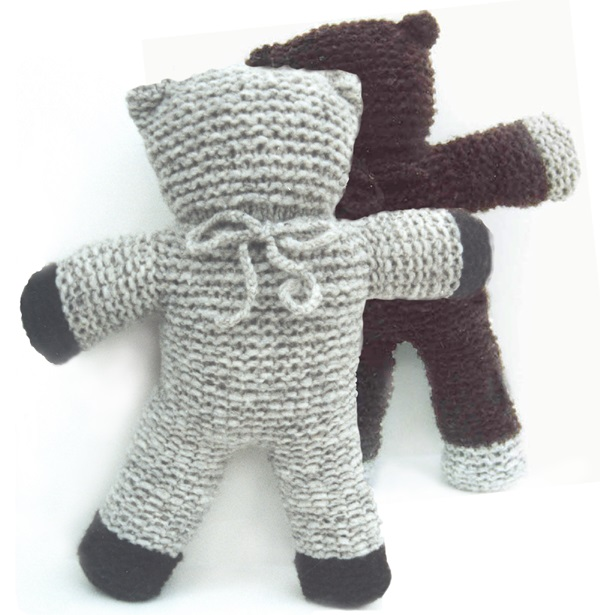 KidsKnit Teddy Bear PDF Pattern 1