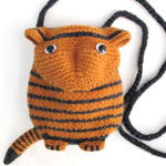 Tiger Cub Minaudiere Purse KnitKit