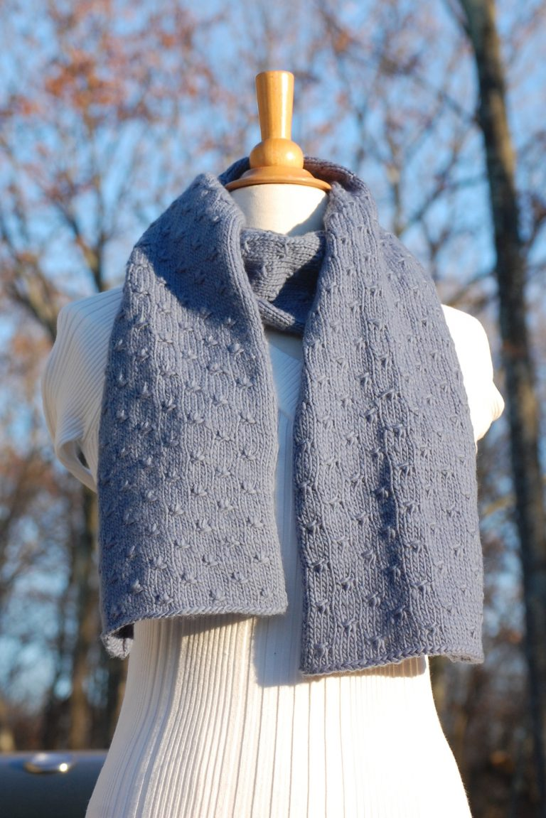 Edelweiss Scarf KnitKit 1