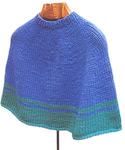 Picadilly Poncho KnitKit (Adult)