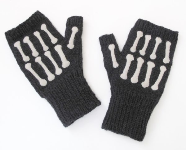 Bony Fingerless patt