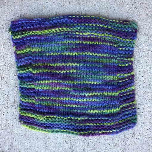 Swatch of wisteria colorway